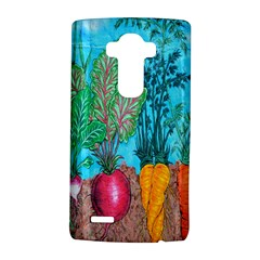 Mural Displaying Array Of Garden Vegetables Lg G4 Hardshell Case by Simbadda