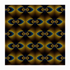 Fractal Multicolored Background Medium Glasses Cloth by Simbadda