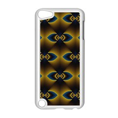 Fractal Multicolored Background Apple Ipod Touch 5 Case (white) by Simbadda