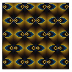 Fractal Multicolored Background Large Satin Scarf (square) by Simbadda