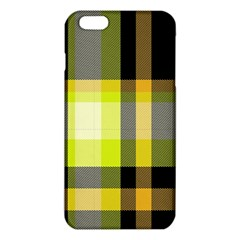 Tartan Pattern Background Fabric Design Iphone 6 Plus/6s Plus Tpu Case by Simbadda