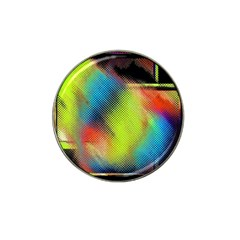 Punctulated Colorful Ground Noise Nervous Sorcery Sight Screen Pattern Hat Clip Ball Marker (10 Pack) by Simbadda