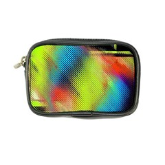 Punctulated Colorful Ground Noise Nervous Sorcery Sight Screen Pattern Coin Purse by Simbadda