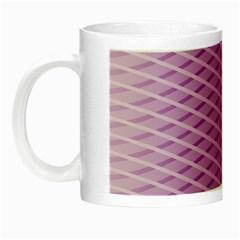 Abstract Lines Background Pattern Night Luminous Mugs by Simbadda