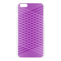 Abstract Lines Background Pattern Apple Seamless iPhone 6 Plus/6S Plus Case (Transparent) by Simbadda