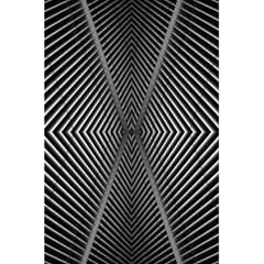 Abstract Of Shutter Lines 5 5  X 8 5  Notebooks by Simbadda