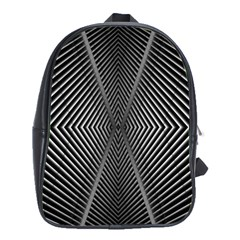 Abstract Of Shutter Lines School Bags (xl)  by Simbadda