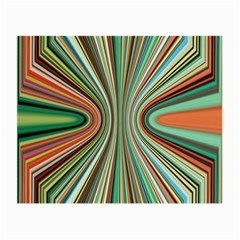 Colorful Spheric Background Small Glasses Cloth by Simbadda