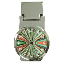 Colorful Spheric Background Money Clip Watches by Simbadda