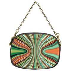 Colorful Spheric Background Chain Purses (two Sides)