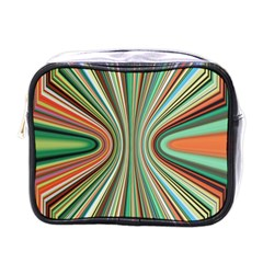 Colorful Spheric Background Mini Toiletries Bags by Simbadda