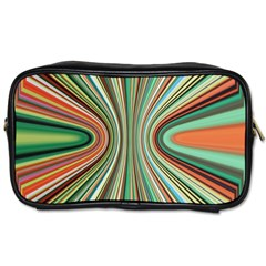 Colorful Spheric Background Toiletries Bags by Simbadda