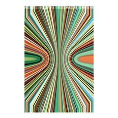 Colorful Spheric Background Shower Curtain 48  X 72  (small)  by Simbadda