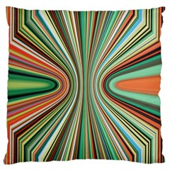 Colorful Spheric Background Large Cushion Case (two Sides) by Simbadda