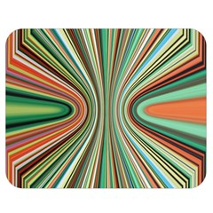 Colorful Spheric Background Double Sided Flano Blanket (medium)  by Simbadda