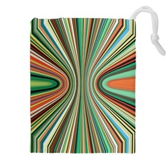 Colorful Spheric Background Drawstring Pouches (xxl) by Simbadda