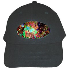 Alien World Digital Computer Graphic Black Cap by Simbadda