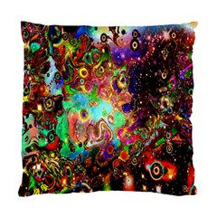Alien World Digital Computer Graphic Standard Cushion Case (two Sides) by Simbadda