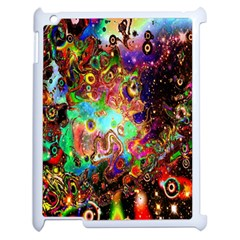 Alien World Digital Computer Graphic Apple Ipad 2 Case (white) by Simbadda