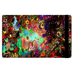 Alien World Digital Computer Graphic Apple Ipad 3/4 Flip Case by Simbadda