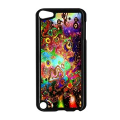 Alien World Digital Computer Graphic Apple Ipod Touch 5 Case (black) by Simbadda