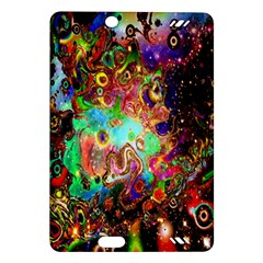 Alien World Digital Computer Graphic Amazon Kindle Fire Hd (2013) Hardshell Case by Simbadda
