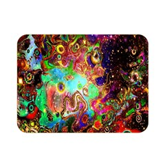 Alien World Digital Computer Graphic Double Sided Flano Blanket (mini)  by Simbadda