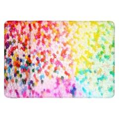 Colorful Colors Digital Pattern Samsung Galaxy Tab 8 9  P7300 Flip Case by Simbadda