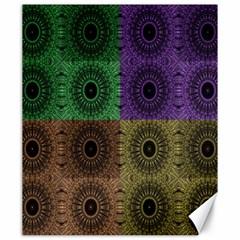 Creative Digital Pattern Computer Graphic Canvas 20  X 24   by Simbadda