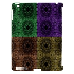 Creative Digital Pattern Computer Graphic Apple Ipad 3/4 Hardshell Case (compatible With Smart Cover) by Simbadda
