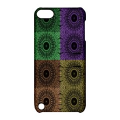 Creative Digital Pattern Computer Graphic Apple Ipod Touch 5 Hardshell Case With Stand by Simbadda