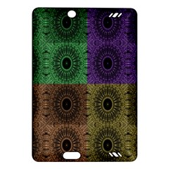 Creative Digital Pattern Computer Graphic Amazon Kindle Fire Hd (2013) Hardshell Case by Simbadda