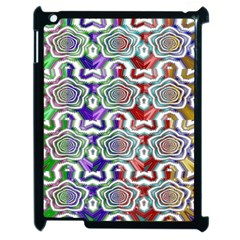 Digital Patterned Ornament Computer Graphic Apple iPad 2 Case (Black)