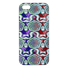 Digital Patterned Ornament Computer Graphic Iphone 5s/ Se Premium Hardshell Case by Simbadda