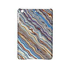 Fractal Waves Background Wallpaper Pattern Ipad Mini 2 Hardshell Cases by Simbadda