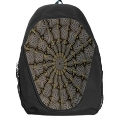 Abstract Image Showing Moiré Pattern Backpack Bag by Simbadda
