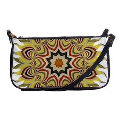Abstract Geometric Seamless Ol Ckaleidoscope Pattern Shoulder Clutch Bags by Simbadda