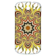 Abstract Geometric Seamless Ol Ckaleidoscope Pattern Samsung Galaxy S3 S Iii Classic Hardshell Back Case by Simbadda