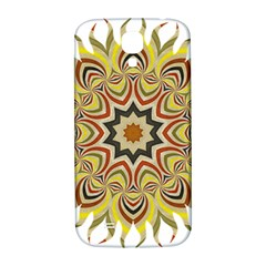 Abstract Geometric Seamless Ol Ckaleidoscope Pattern Samsung Galaxy S4 I9500/i9505  Hardshell Back Case by Simbadda