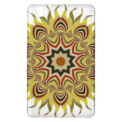 Abstract Geometric Seamless Ol Ckaleidoscope Pattern Samsung Galaxy Tab Pro 8 4 Hardshell Case by Simbadda