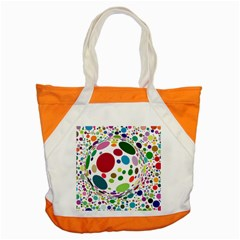 Color Ball Accent Tote Bag by Mariart