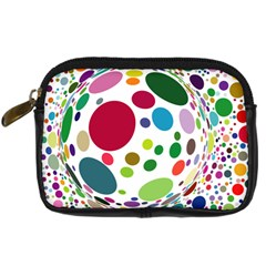 Color Ball Digital Camera Cases by Mariart