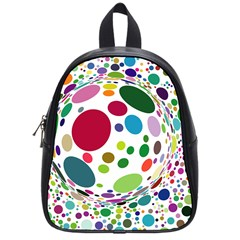Color Ball School Bags (small)  by Mariart