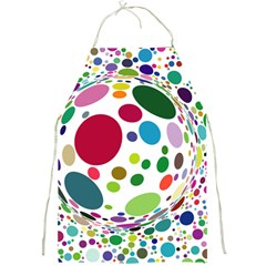 Color Ball Full Print Aprons by Mariart