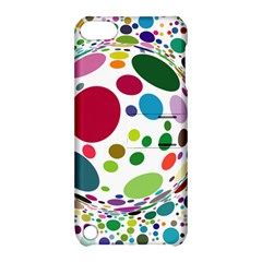 Color Ball Apple Ipod Touch 5 Hardshell Case With Stand by Mariart