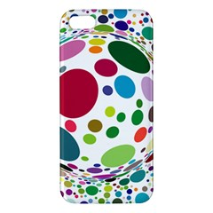 Color Ball Iphone 5s/ Se Premium Hardshell Case by Mariart