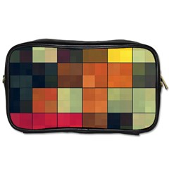 Background With Color Layered Tiling Toiletries Bags 2 Side by Simbadda