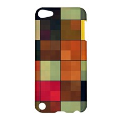 Background With Color Layered Tiling Apple Ipod Touch 5 Hardshell Case by Simbadda