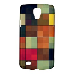 Background With Color Layered Tiling Galaxy S4 Active by Simbadda