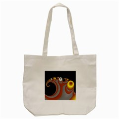 Classic Mandelbrot Dimpled Spheroids Tote Bag (cream) by Simbadda
